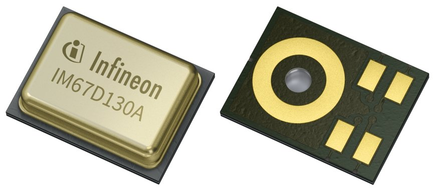 Infineon introduces industry's first AEC-Q103 qualified high-performance XENSIV™ MEMS microphone for automotive applications